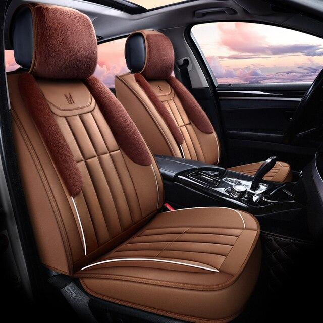 Winter Plush Car Seat Cover Cushion For Infiniti EX25 FX35/45/50 G35/37 JX35 Q70L Series Car pad,auto seat cushion Free Shipping