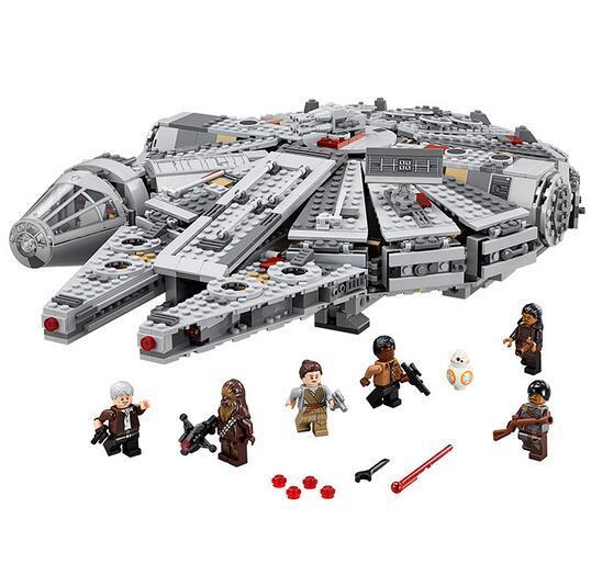 LEPIN Star Wars Millennium Falcon Figure super héros Jouets building blocks set marvel