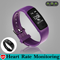 Fashion Swim Music Control Smart Wristband Band Heart Rate Monitor Pedometer GPS Trajectory Fitness Bracelet Tracker PK fitbits