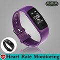 Mergulho moda Música Controle de Banda Inteligente Pulseira Pedômetro Monitor De Freqüência Cardíaca GPS Trajetória Pulseira De Fitness Rastreador PK fitbits