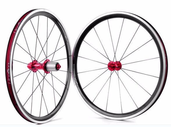 Litepro 20 pouce 406 451 ultra-léger vélo pliant V de frein roues bmx roue jeu de roues bmx pièces