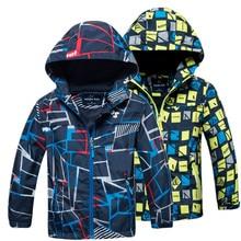Girls Jackets Kids Coats Waterproof Spring Children Outerwear Boys Autumn Fashion New
