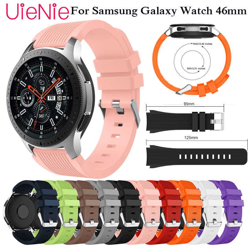 22mm strap for Samsung Gear S3 frontier classic band for Samsung Galaxy Watch 46mm strap smart watch watchband accessories