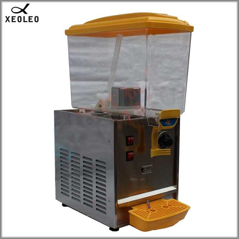 XEOLEO Cold&Hot Drink Machine 17L Cool Drink Dispenser Maker  Fruit Juice Dispenser Beverage Machine 220V/ R134a