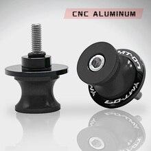 Motorcycle Accessories CNC Aluminum Swingarm Spools Slider Swing Arm Stand Screws 6/8/10mm For YAMAHA MT07 MT-07 MT 07