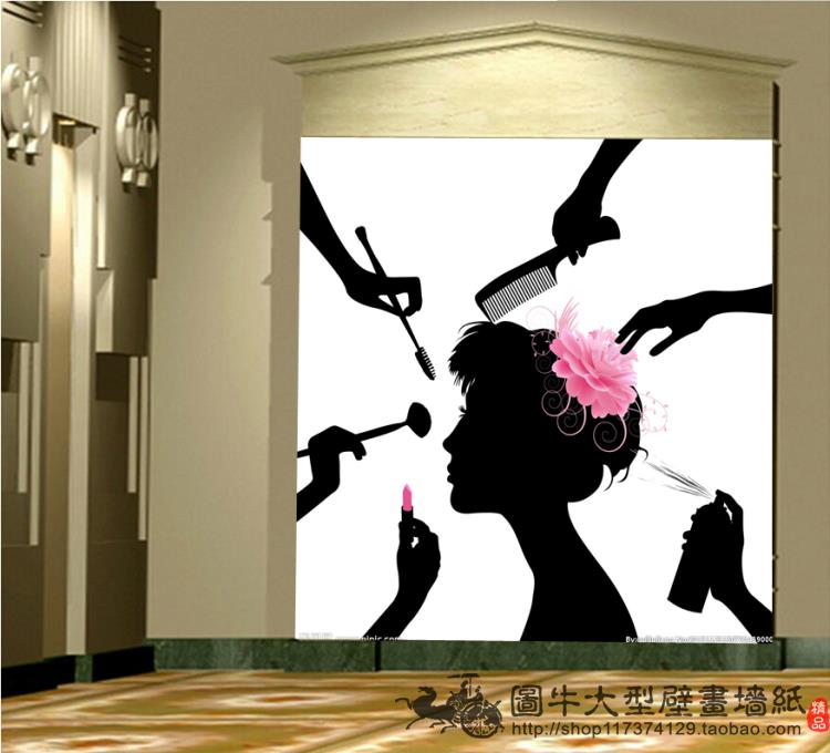 Custom 3d Mural 3D Stereo Fashion Personality Beauty