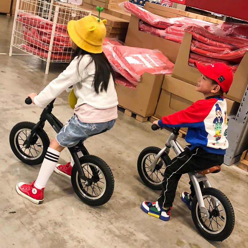 Bayi Bersinar Keseimbangan Sepeda Anak-anak Scooter Bayi Walker Anak Sepeda Berkualitas Tinggi Roda 2-6 Tahun Hadiah untuk mainan Bayi