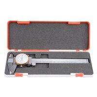 Calibrador Vernier de alta precisión 0-200mm precisión 0 01