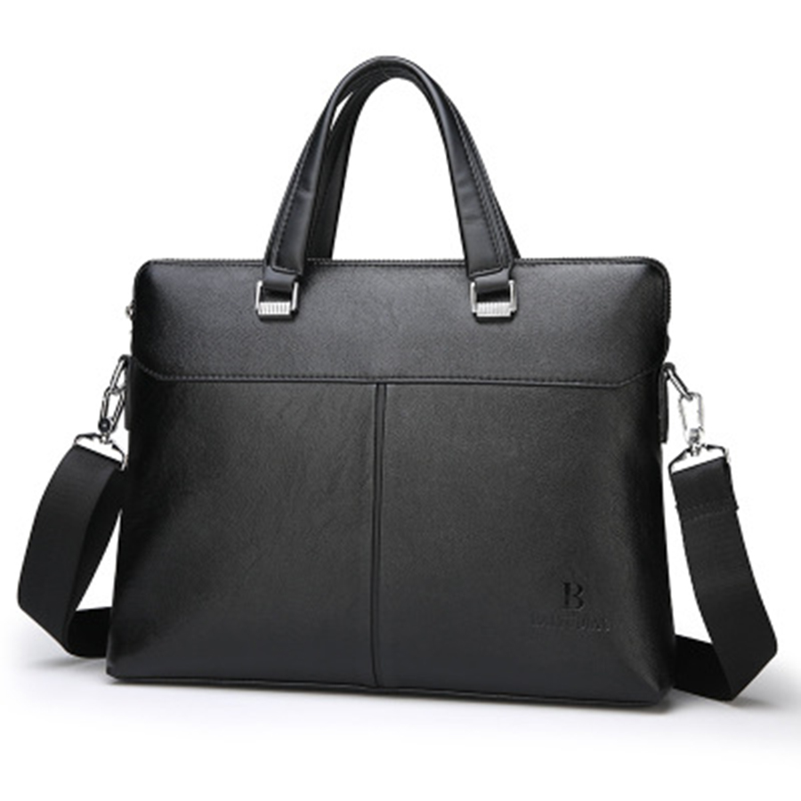 PU Business Laptop Briefcase Shoulder Male Office Computer Business Bag Handbag Men Bolsa Executiva Masculina Man Bag Big 5GWB15(China)