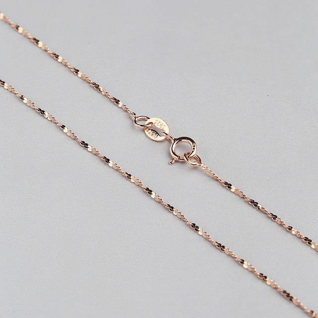 12mm Solid Sterling Sliver Chain Necklace White Gold Yellow Gold