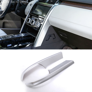 Image 1 - Car Accessories Center Console Side Decoration Strips Trim 2pcs for Land Rover Discovery 5 LR5 2017