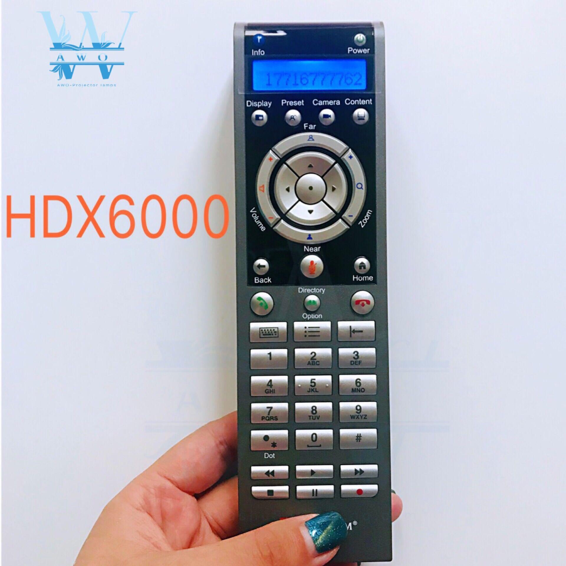 Nouvelle télécommande d'origine pour système de vidéoconférence pour Polycom HDX6000 HDX7000 HDX8000 HDX9000