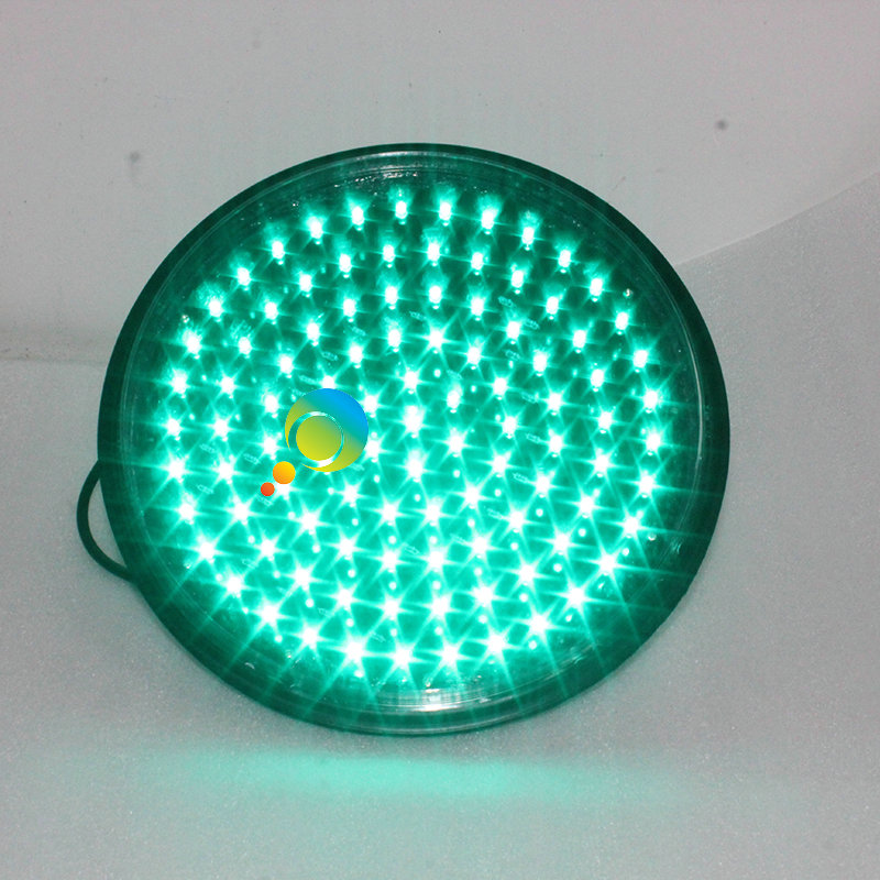 CE RoHS Approved Green Lamp Taiwan Epistar LED Signal Light 300mm Green Traffic Light Module