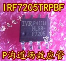 Freeshipping     P  IRF7205TRPBF IRF7205 F7205 SOP8   IRF7205TRPBF irf9952pbf irf9952 f9952 sop8