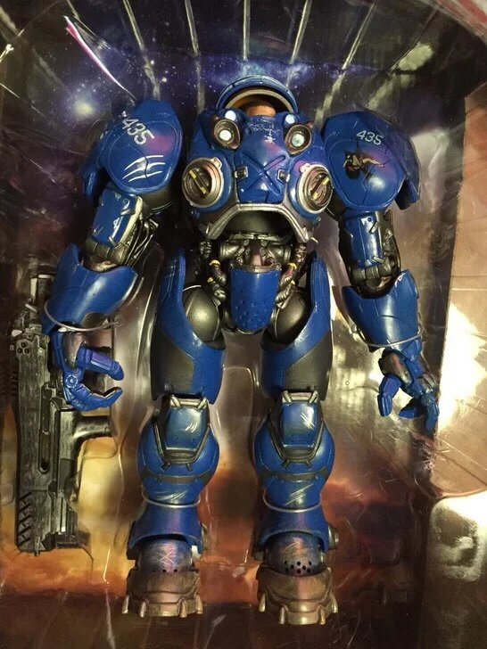 Game Tychus Findlay PVC Action Figure Collectible Model Toy 23cm KT2279 кеды findlay findlay fi020awxnm35