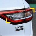 Fohlen Brennen ABS Chrome Auto Rückleuchten Abdeckung Rücklicht Trim Aufkleber Für Renault Koleos 2017 2018 Auto Styling Zubehör