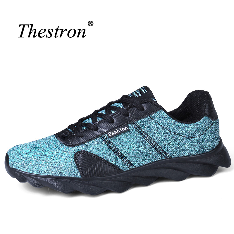 Thestron Running Shoe For Boys Different Colors Mans Runners Comfortable Running Sneakers Men Light Weight Male Sport Shoes
