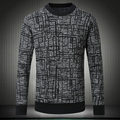 2016 Winter top quality wool pull round collar style thick casual pullover homme men sweater M~3XL,4XL #8502