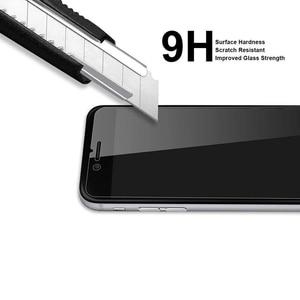 Image 2 - 3 個強化ガラス Huawei 社 Y5 2018 スクリーンプロテクター 2.5D 9 9h 保護フィルム Huawei 社 Y5 プライム 2018 にガラス