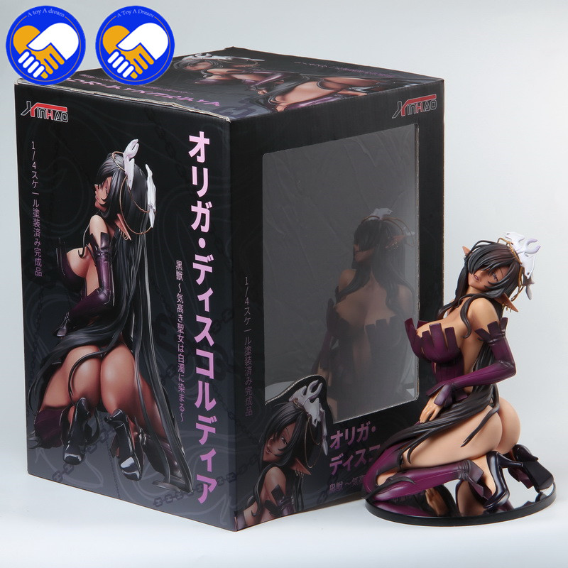 NEW 25cm Soft Hard Material Native BINDing <font><b>Sexy</b></font> Girls Olga Discordia <font><b>figures</b></font> PVC Action <font><b>Figures</b></font> Toys Anime Model Toy For Adults image
