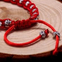 Rope Handmade Skull Bracelet