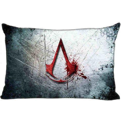 Najlepsza niestandardowa poszewka na poduszkę assassins_creed (1) sypialnia Home prostokąt zipper poszewki na poduszki (z jednej strony) @ 181205-05-01-26
