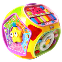 Learning & Education Multifunctional Musical Toys Baby Fun Heptahedron House Educational Toys For Kid Children Music Box