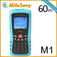 Laser Digital Rangefinder M1 40M Area Volume M Ft In Tool Blue Range Finder Hunting Measure