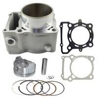 Motorcycle Engine Parts For KAWASAKI KLX300 KLX 300 Air Cylinder Block Piston Kit Cylinder Head Gasket