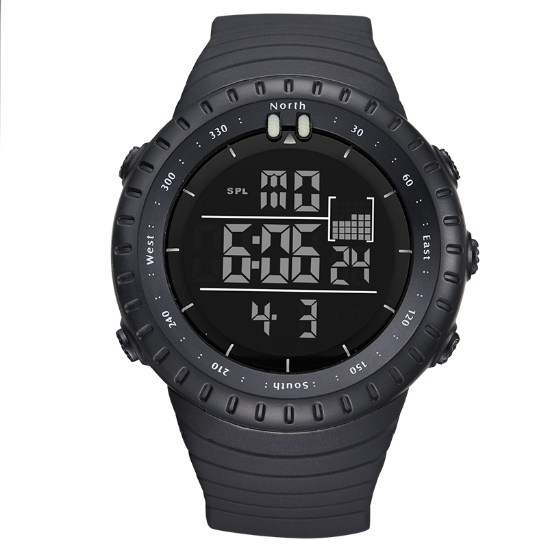 BIDEN Brand Casual Mens Sports Watches LED Military Watch Men Casual Electronics Digital Wrist Watches Mens Gift relogio