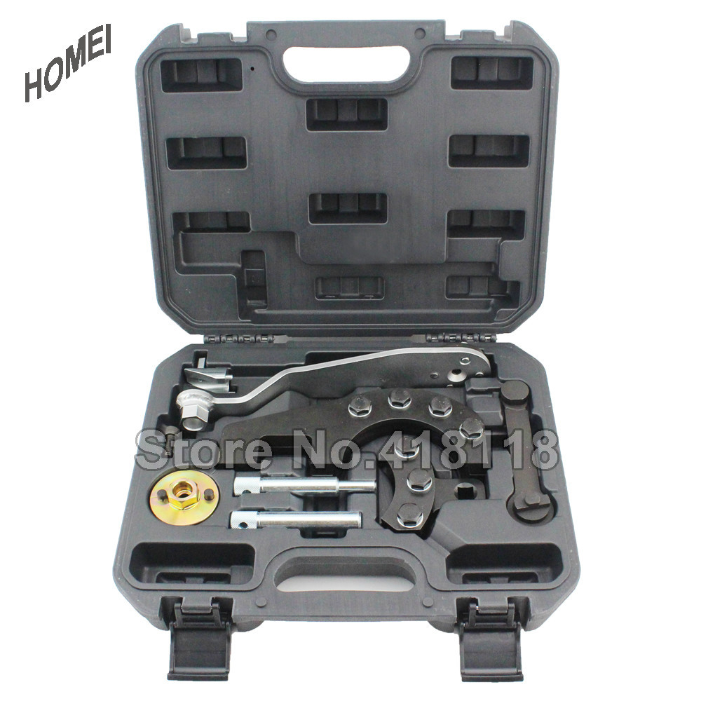 Diesel Engine Timing Tools Set For VW, <font><b>Audi</b></font> <font><b>2.5</b></font> <font><b>TDI</b></font> PD and 4.9D/<font><b>TDI</b></font> image