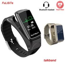 Smart Браслет B7 Bluetooth наушники Стиль монитор сердечного ритма Смарт часы OLED умный Браслет фитнес трекер для Android/IOS