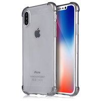 2017 X Level High Quality TPU Soft For IPhone X Case Business Style Crashproof Phone Case