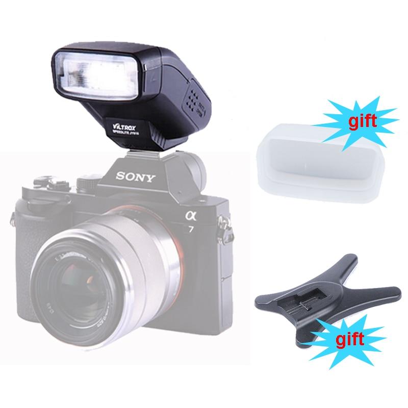 Viltrox JY 610 Mini Flash Speedlite for Sony A6300 A6000 A7 A7R A7RII A7K NEX 6L NEX6 NEX600 HX50 RX10 A99 Camera