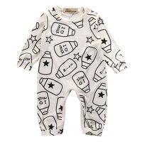 Hi Hi Baby Store UK STOCK Newborn Infant Baby Cotton Romper Jumpsuit Body Cotton Clothes Outfits