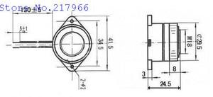 Image 4 - 100個圧電ブザー12v 24v STD 3025連続音スパイラル