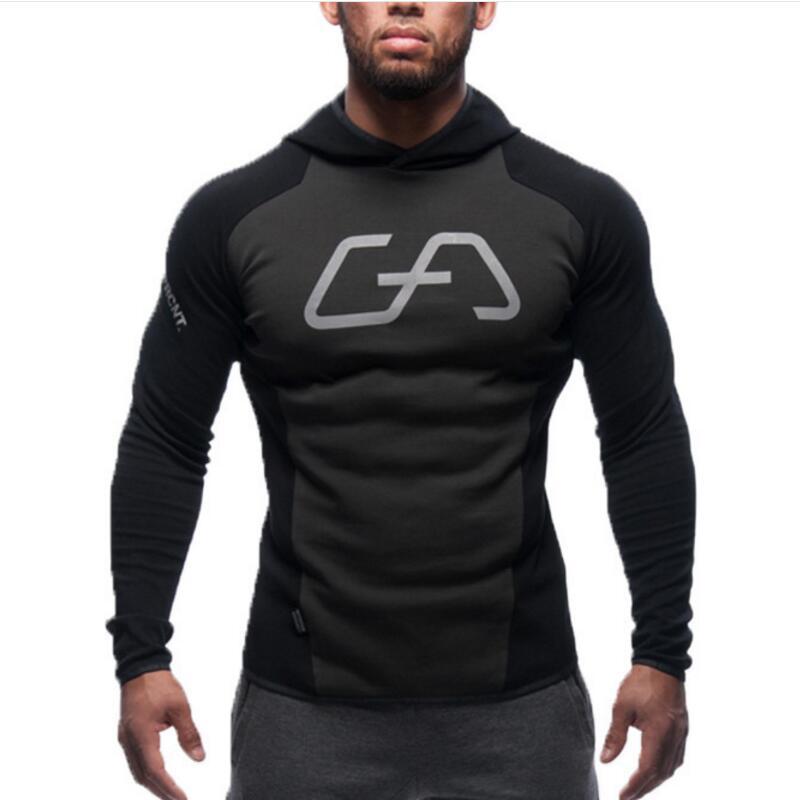 New shark hoodies men coat font b bodybuilding b font font b and b font font
