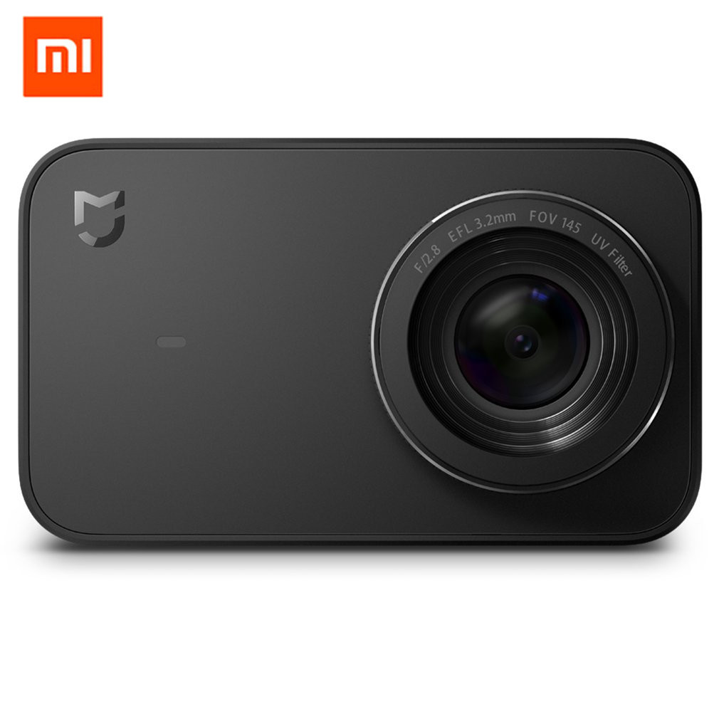 Original Xiaomi Mijia Mini Action Sport caméra 4 K caméscope 145 grand Angle vidéo WiFi caméras App contrôle 2.4 pouces écran tactile