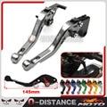 For Kawasaki ZX6R/ZX636R/ZX6RR ZX9R ZX10R ZX12R  Z1000 VERSYS 1000 ZZR600 CNC Aluminum Short Brake Clutch Levers