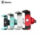 Baseus suporte do telefone do carro universal móvel para iphone 6 samsung gps 360 rotação suporte do carro-styling air vent mount suporte suporte
