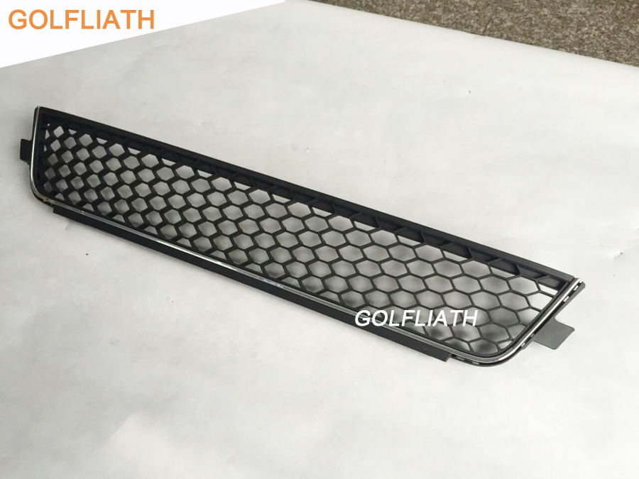 GOLFLIATH replacement GLI ABS Honeycomb Mesh Lower Front Grille bumper Grill for vw volkswagen Jetta mk6 GLI bumper 2012-2015 цена