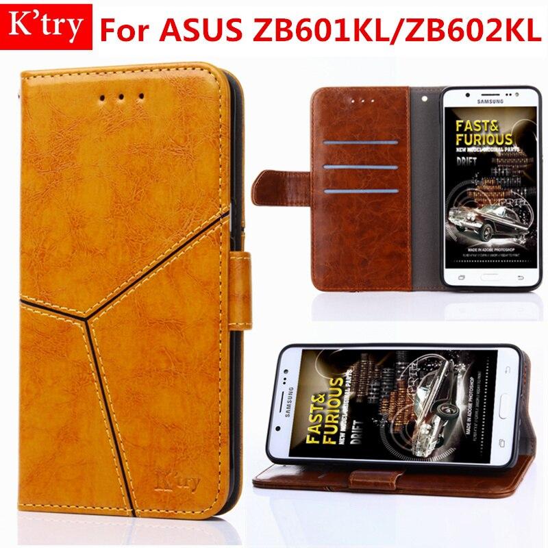Cas pour ASUS Zenfone Max Pro M1 ZB601KL ZB602KL De Luxe PU Cuir Flip cover avec Stand béquille Fonction funda coque