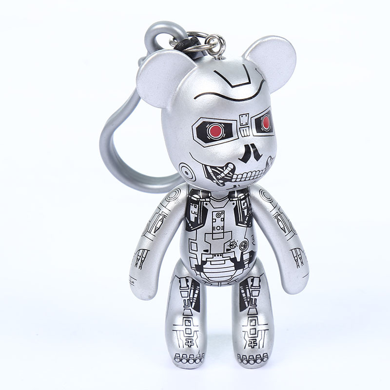 Five Nights At Freddy'S FNAF Keychain Characters Toys Collector Clip Key Ring Five Nights At Freddy Figure Toys A167 5pcs lot fnaf keychain game five nights at freddy keychain figures toys set bonnie foxy plastic bear fazbear fnaf key chain ring