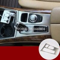 Inner Console Gear Box Panel Trim Cover 1pcs For BMW X5 E70 X6 E71 2008 2009