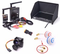 FPV Kit Combo System 1200TVL Runcam 700TVL Camera 5 8Ghz 600mw 48CH TS832 RC832 Plus 7