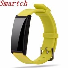 Smartch X9 смарт-браслет Фитнес браслет сердечного ритма Мониторы группа Presión arterial шагомер Водонепроницаемый браслет для iOS и Android