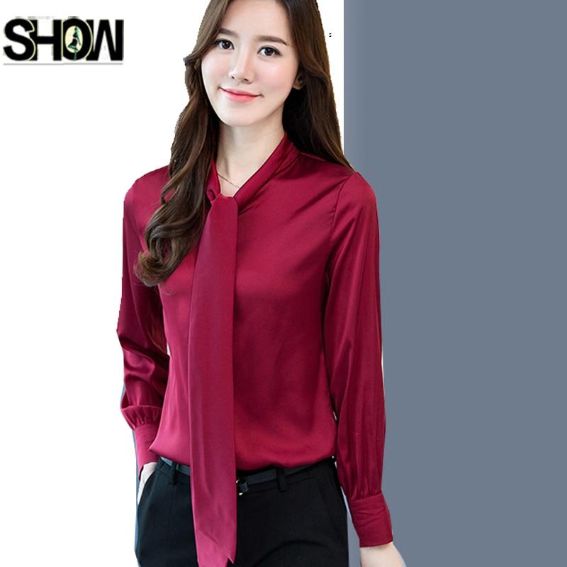 2018 New Arrivals Shirts Women Korea Design Tops Long