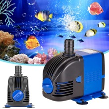 3W/6W/15W/25W/35W/50W/60W 500-3500L/H Ultra-Quiet Submersible Water Pump Filter Fish Pond Fountain Aquarium Tank High-lift 220V