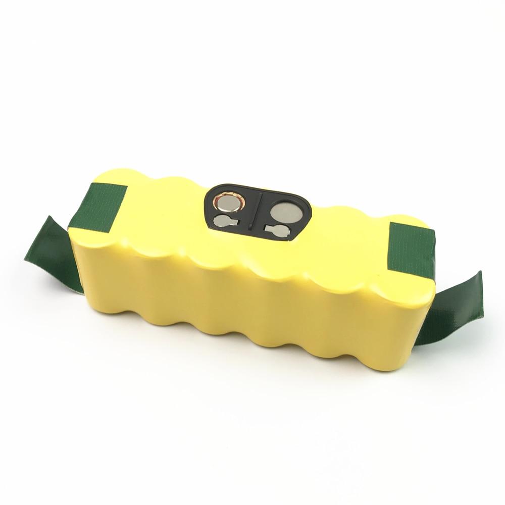 Bateria de 14.4 v 3500 mah ni-mh para irobot roomba 500 510 530 532 534 535 540 550 560 562 570 580 600 610 700 760 770 780 800 980 r3