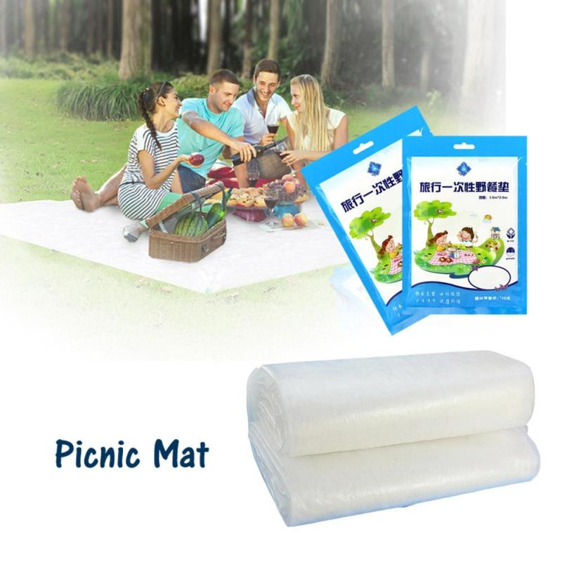 Waterproof Cleaning Disposable Picnic Mat Outdoor Sand Grass Campground Mat Family Travel Clean Novelty Camping #35